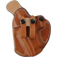 DeSantis Left Hand Tan Cozy Partner Holster 028TB90Z0 - SIG P220 WITH EQUIPMENT RAIL
