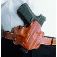 DeSantis Right Hand Black Mini Slide Holster 086BAE8Z0 - GLOCK 20, 21, 21SF, 29, 30, 37, 39