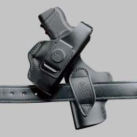 DeSantis Left Hand Black Dual Carry Holster 032BB22Z0 - COLT DETECTIVE SPECIAL 2in.