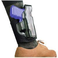 DeSantis Right Hand Black Lined Die Hard Ankle Rig Holster 014PCS1Z0 - S&W J 332, 340, 342, 432PD, 442, 640, 640-1, 642, M&P 340 2in.-2 1/4in.