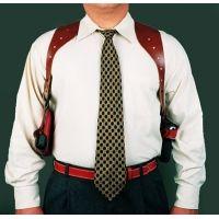 DeSantis Ambidextrous - Black - Double Magazine Pouch for Shoulder Rigs A24BJBBZ0