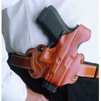 DeSantis Right Hand Tan Thumb Break Mini Slide Holster 085TAL7Z0 - S&W M&P FULL-SIZE AND COMPACT 9MM/40CAL