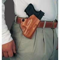 DeSantis Right Hand Tan Mini Scabbard Holster 019TA19Z0 - PARA P10, P12