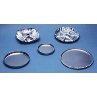 Eagle Thermoplastic Disposable Aluminum Weighing and Drying Pans D-125 Weighing Pans