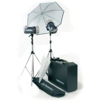 Elinchrom Style 600RX/1200RX Kit With Umbr., Refle., Stands And Case EL-20746