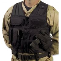 Elite Survival Systems Tactical Holster Vest 7614-B-RH