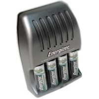 Energizer 15 min AA / AAA Charger with 4 AA Rechargeable NIMH Batteries