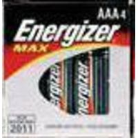 Energizer MAX Alkaline Batteries AAA 4-Pack 1.5v AAA Batteries