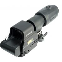 EOTech MPO III EXPS2-2 Holosight with G23 3X Magnifier - Circle 2-Dot Reticle, non-NV compatible