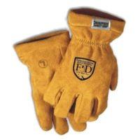 Fire-Dex Gold Elk/leather Cuff
