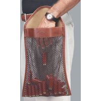 Galco Deluxe Leather Canvas Mesh Hull Bag Ambidextrous