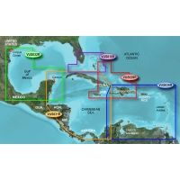 Garmin On The Water GPS Cartography BlueChart g2 Vision: Caribbean & Central America Regular Map