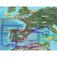 Garmin On The Water GPS Cartography BlueChart g2 Vision: Europe South Atlantic Coast Regular Map