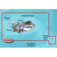 Garmin On The Water GPS Cartography BlueChart g2 Vision: Iceland Regular Map 010-C0780-00