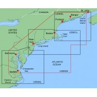 Garmin On The Water GPS Cartography BlueChart: Northeast Coast Large & Extra Large Map