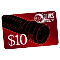 OpticsPlanet.com Email Gift Certificate $10