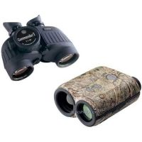 2-PC Commander In Chief Military Gift Package - Steiner 7x50 Commander V Binoculars 392 with Reticle and Compass and Leupold 61475 Digital RX-IV Laser Rangefinder