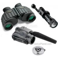 3-PC Day and Night Explorer Military Gift Package - Steiner 8x30 Binoculars, Streamlight NF-2, Bushnell 2.5x42 Night Vision Audio Scope