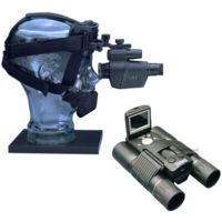 2-PC Day and Night Neighborhood Watch Gift Package - Bushnell 8x30 3.1mp Dig Cam Binocular 118323, ATN Viper