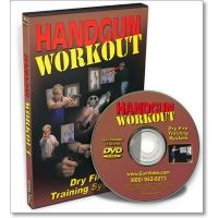 Gun Video DVD - Handgun Workout - Dry Fire Practice System X0099D