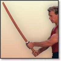 Gun Video Wooden Practice Sword T0077