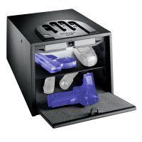 GunVault Bio Multi-Vault Biometric Pistol Safe