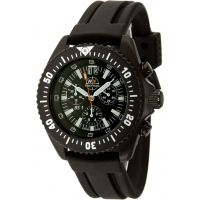 H3 Tactical Commander Mens Watch w/ Timer