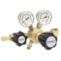Harris Calorific High-Purity Single-Stage Gas Regulators, Brass 3001149