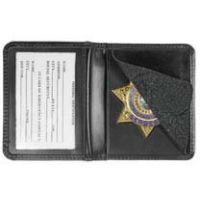 Heros Pride Deluxe Low Profile Badge Case w/ ID Viewing Window