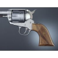 Hogue Ruger Blackhawk/Vaquero Handgun Grip Walnut Cowboy Panels, Checkered 83671