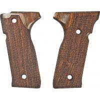 Hogue Beretta Cougar 8045 Handgun Grip Coco Bolo Checkered 91821