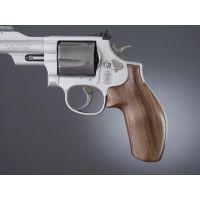 Hogue S&W K or L Rd. Handgun Grip Pau Ferro No Finger Groove 19310