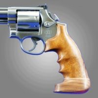 Hogue Ruger GP100/Super Redhawk Handgun Grip Goncalo Big Butt 80224