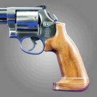 Hogue Ruger Security Six Handgun Grip Goncalo No Finger Groove Big Butt 87234