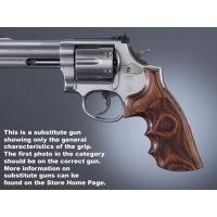 Hogue Ruger Speed-Six Handgun Grip Rose Laminate Checkered 88501