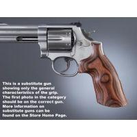Hogue Ruger Speed-Six Handgun Grip Rose Laminate No Finger Groove 88510