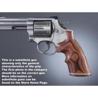 Hogue Trooper Mk III Handgun Grip Rose Laminate Top Finger Groove Stripe/Cap 42540