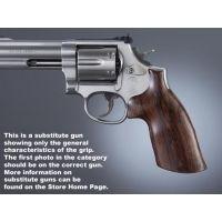 Hogue Trooper Mk III Handgun Grip Rosewood No Finger Groove 42910
