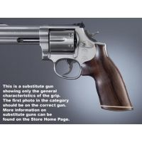 Hogue Trooper Mk III Handgun Grip Rosewood No Finger Groove Stripe/Cap 42930