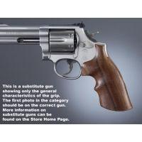 Hogue Ruger Security Six Handgun Grip Rosewood Top Finger Groove 87950