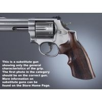 Hogue Ruger Security Six Handgun Grip Rosewood Top Finger Groove Checkered 87951