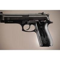 Hogue Taurus PT-99 PT-92 PT-100 PT-101 Handgun Grip Safety Only Flames Aluminum - Red Anodized 99122