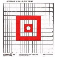 Hoppe's 9 100yd. Sighting Target 1inch 14 X 14 Paper 100/PK S5B