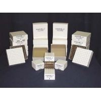 CryoPro Storage Boxes and Dividers 04A2-VWR-02D Mechanical Cryogenic Freezer Boxes With 81-Cell Divider