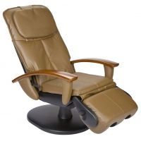 Human Touch HT-103 Robotic Massage Chair in Cashew Leather-Like PVC