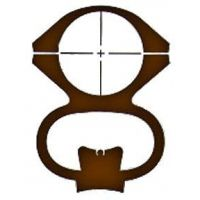 Ironsighter Muzzleloader See-Thru Mount For CVA & Traditions 332