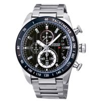 J. Springs Center Chronograph Mens Watch w/ Stopwatch Buttons
