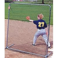 Jugs Sports Replacement Net for 6-foot Quick-Snap Square Sports Screen - NET ONLY S4005