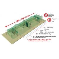 Jugs Sports Outdoor Split-Cage Package For Softball