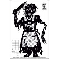 Killer Targets Zombie Wife Range Target